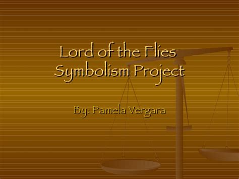 images and symbols in lord of the flies pamela lord of the flies symbolism project