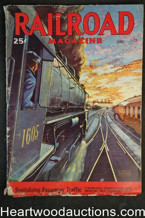 leading edge issue 71 volume 71 books railroad magazine dec 1946 frederick blakeslee cover