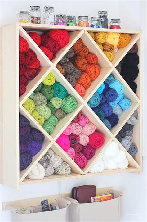 Yarn Storage Furniture by 50 Clever Craft Room Organization Ideas Page 5 Of 10 Diy