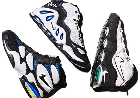 nike basketball shoes history nike air max uptempo history sneakernews