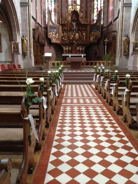 Kirchenbã Nke Hochzeit by Blumenschmuck F 252 R Die Hochzeitskirche Blumengalerie