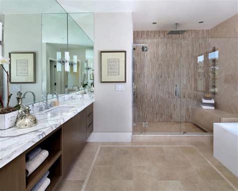 contemporary simple master bathroom ideas contemporary master bathroom with glass enclosed shower hgtv