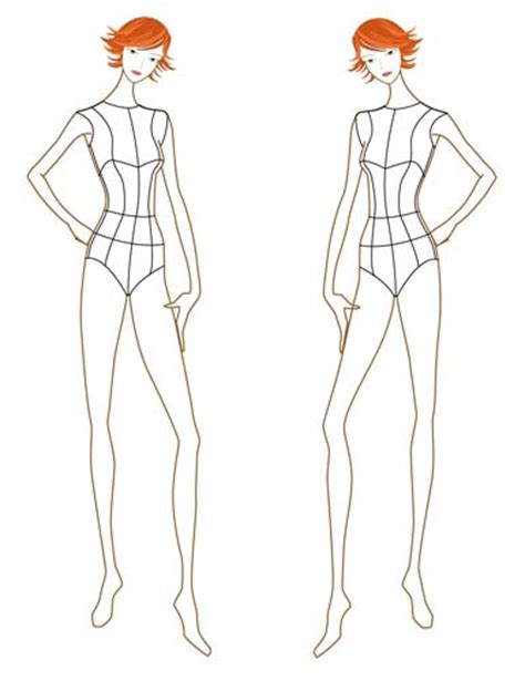 figure templates for fashion illustration en vogue bon march 233 a is born