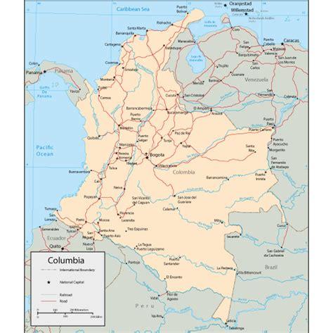 imagenes satelitales de colombia vector clipart mapa f 237 sico de colombia editable