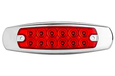 led marker lights for semi trucks low profile peterbilt led truck and trailer lights 6