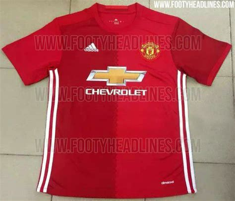 Kaos Manchester United Mu To Zlatan Dtz 2 leaked manchester united 2016 17 kit has two different