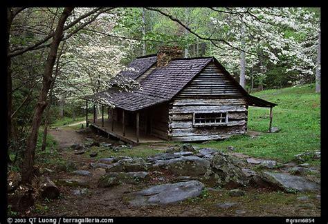 picture photo noah ogle historical cabin framed by