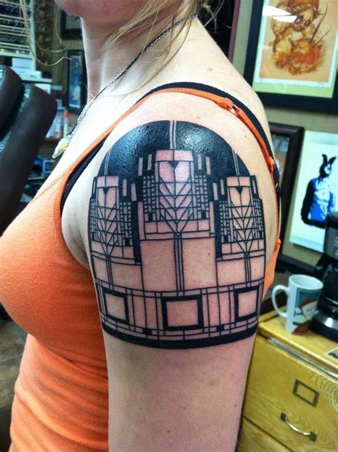 tattoo convention madison wi frank lloyd wright inspired design by tbradley tattoo