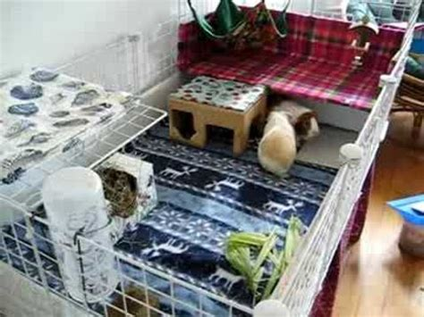 guinea pig bedding ideas how to use fleece in a cavy cage guinea pig cavy things pinterest