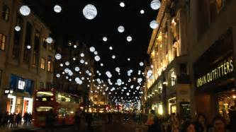 when are oxford street christmas lights switched on