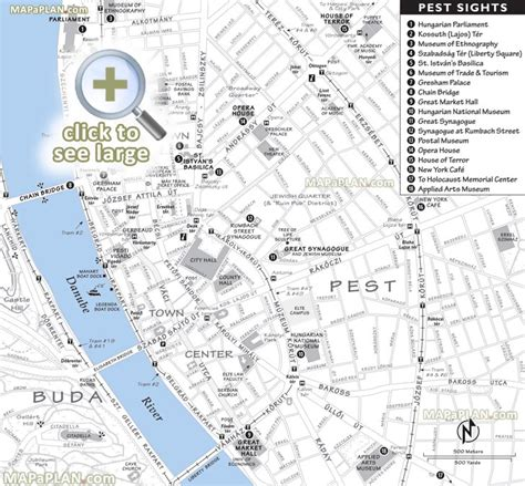 printable map budapest budapest maps top tourist attractions free printable