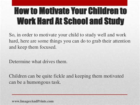 how to motivate yourself to write a paper how to motivate your children to work at school and study