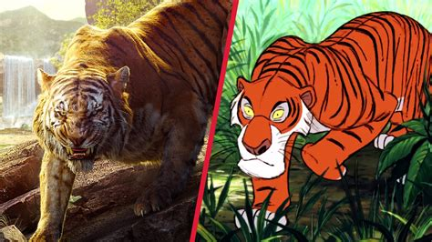 jungle book picture the jungle book trailer gets animated disney side by