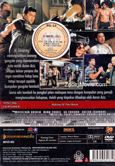film kl gengster 1 kl gangster dvd malay movie 2011 cast by aaron aziz