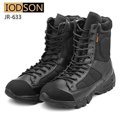 ultra light work boots iodson mens ultra light combat boots black