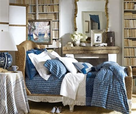 ralph lauren home chic seaside in blue and white