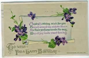 treasures n textures vintage birthday wishes