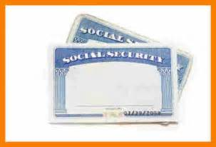 ss card template 5 blank social security card template monthly
