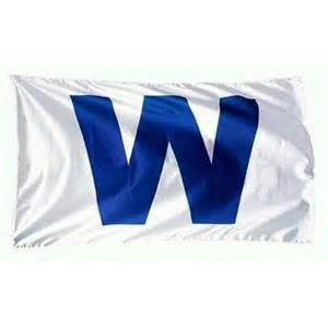 chicago cubs win wrigley field w flag 3x5 banner