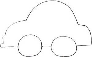 simple car template car outlines cliparts co