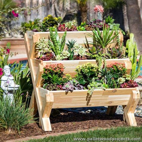 planters    pallets pallet wood projects