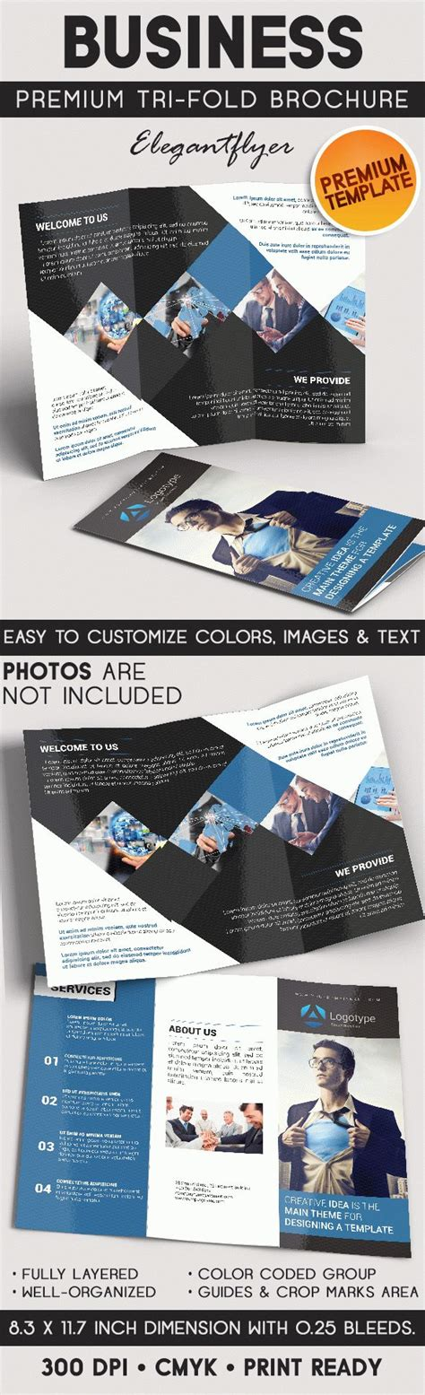 business tri fold brochure templates business brochure tri fold brochure psd template by