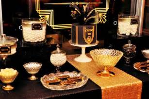 Great gatsby themed birthday party ideas styling design planning