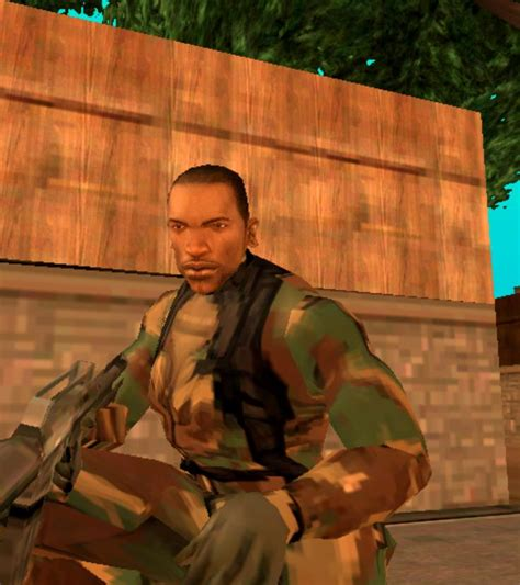 mod gta 5 cj gta san andreas cj hd with army suit for android mod