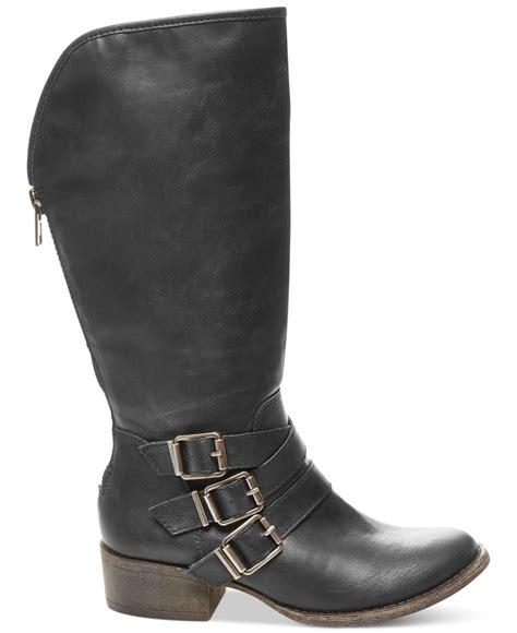 madden boots black lyst madden dakotaaa western mid boots in black
