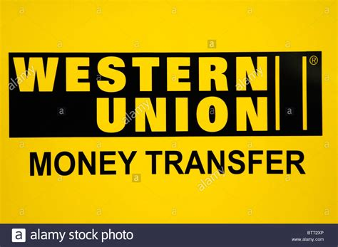 ester union western union money transfer sign logo