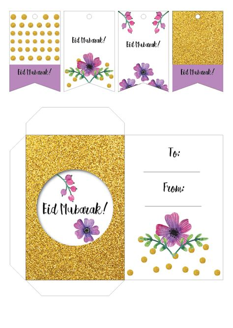 printable eid tags party camel