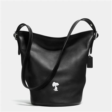 Mandy And Coach Bleeker Duffle by Coach X Peanuts Bleecker Duffle In Leather Need That