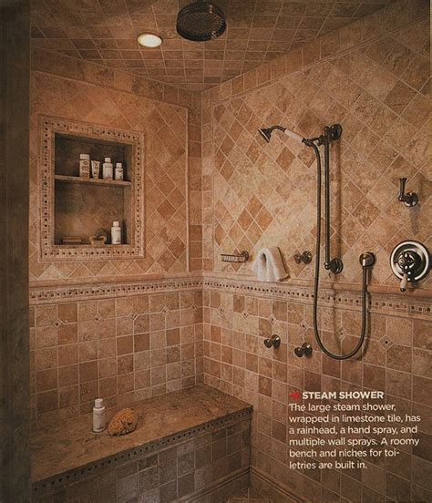 Master Bathroom Plans With Walk In Shower with Our Master Bathroom Spa Shower Plans Times Guide To Log Homes