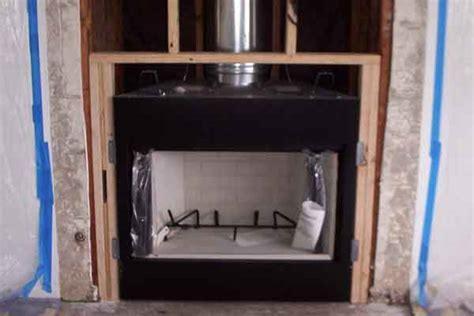 Prefab Wood Fireplace by Pre Fabricated Fireplace Repair Installation San Diego
