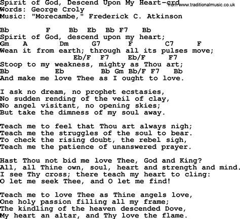 Spirit Of My King ukulele chords for hymns