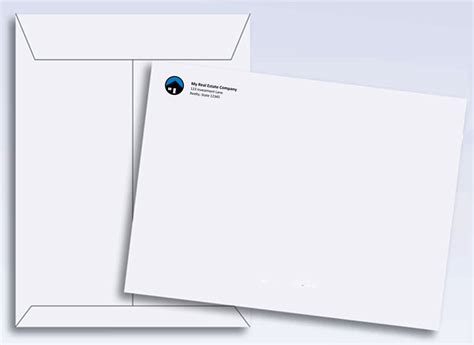 9 X 12 Envelopes 12x9 Envelope Template