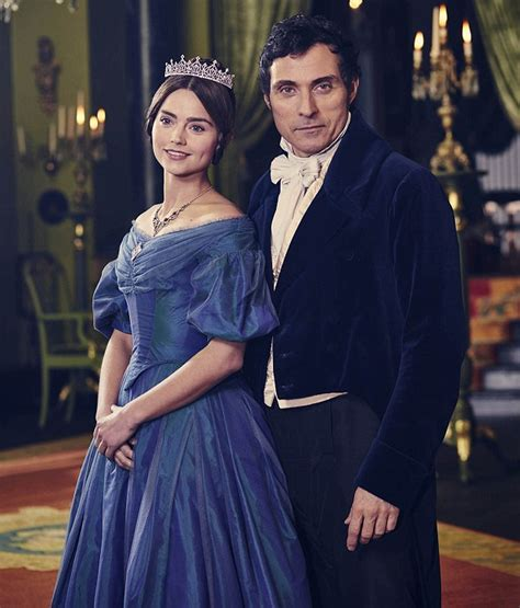 rufus sewell daughter itv victoria viewers left hot under the collar over rufus