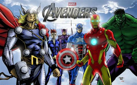 avenger assemble film animation cartoon hd