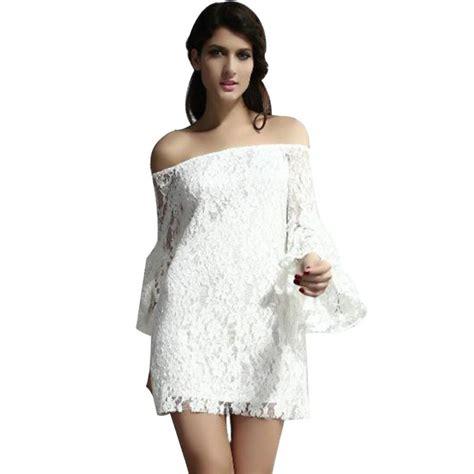 Lace Dress Tosca Blouse 2016 new arrivals vintage bridal boho shoulder lace blouse dress medium sleeve lace