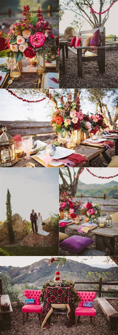 A Whimiscal Bohemian Wedding At Cielo Farms Venue In