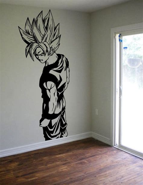 boy wall decor z goku wall decal sticker vinyl decor