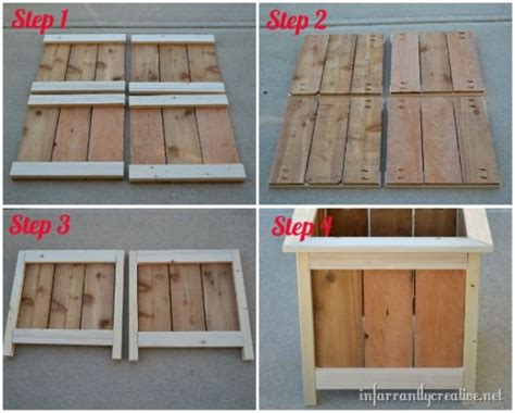 how to make planters some simple ideas on how to craft diy planter boxes diy
