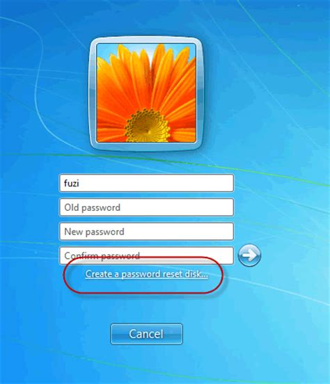 reset password windows 7 reset disk how to create and use a windows 7 password reset disk