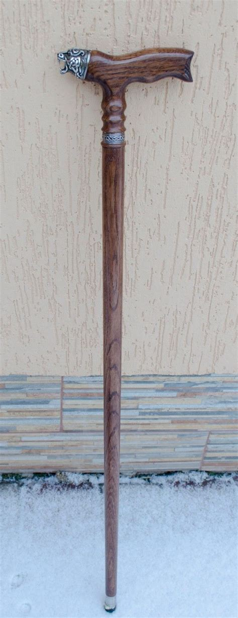 Handmade Canes Wooden - collectible wooden walking stick norse handmade