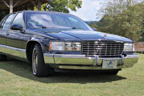 find used 1996 cadillac fleetwood brougham sedan 4 door 5 7l 1 owner excellent condition in buy used 1996 cadillac fleetwood brougham sedan 4 door 5 7l in rome georgia united states for