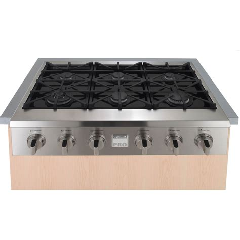Glass Gas Cooktop Kenmore Pro 36 In Slide In Ceramic Glass Gas Cooktop