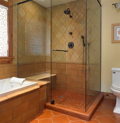saltillo tile bathroom saltillo bathroom i know you have different plans for the master but these are