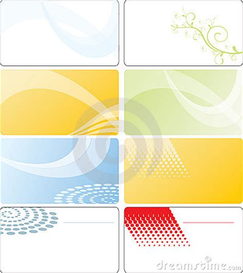 business card template design royalty free stock photo