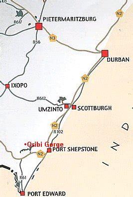 oribi gorge nature reserve, port shepstone