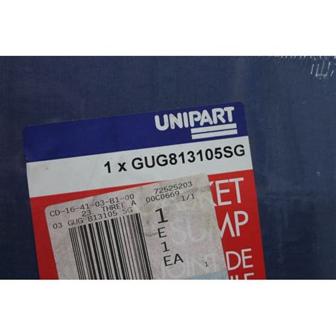 Unipart Garages by Joint De D Huile Unipart R 233 F 233 Rence Gug813105sg